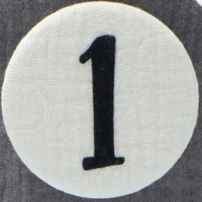 Liezelijn - Cijfers 3 tot 9 - Grijs