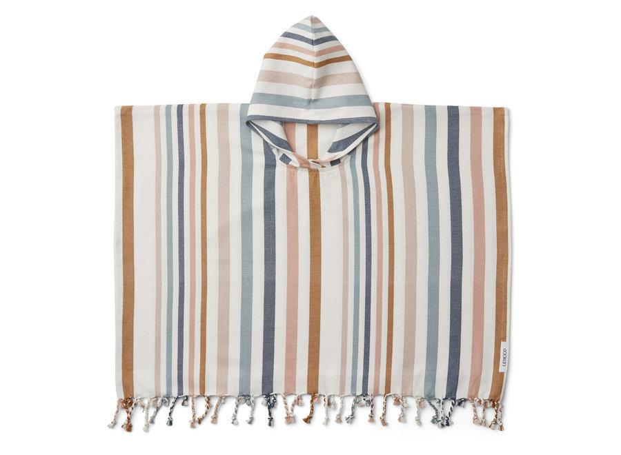 Liewood - Roomie Poncho - Multi Stripe