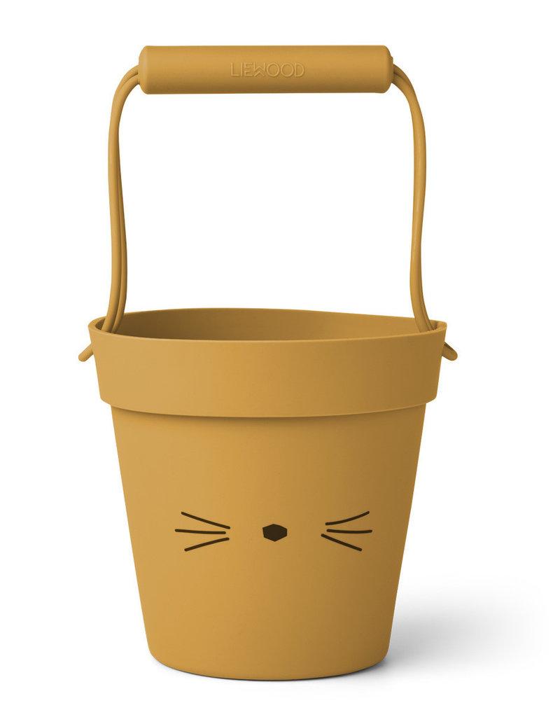 Liewood Liewood - Linda Bucket - Cat Yellow Mellow
