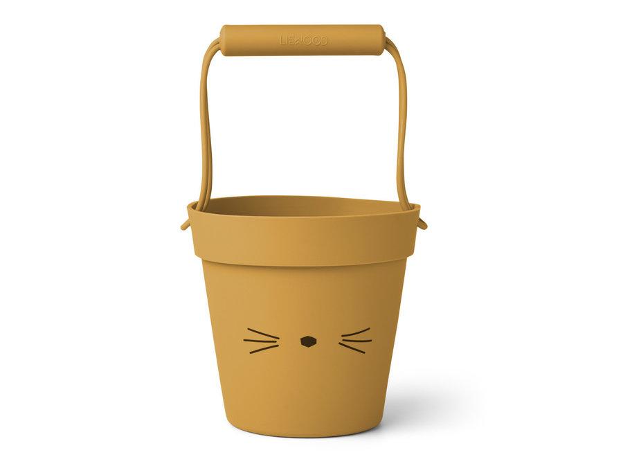 Liewood - Linda Bucket - Cat Yellow Mellow