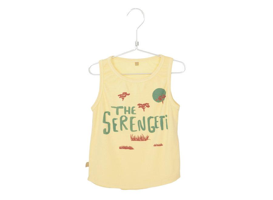 Lotiekids - Tank Top The Serengity - Soft Yellow