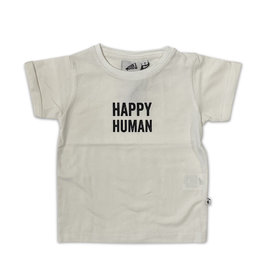 cos I said so Cos I Said So - Short Sleeve T Shirte Happy Human - White