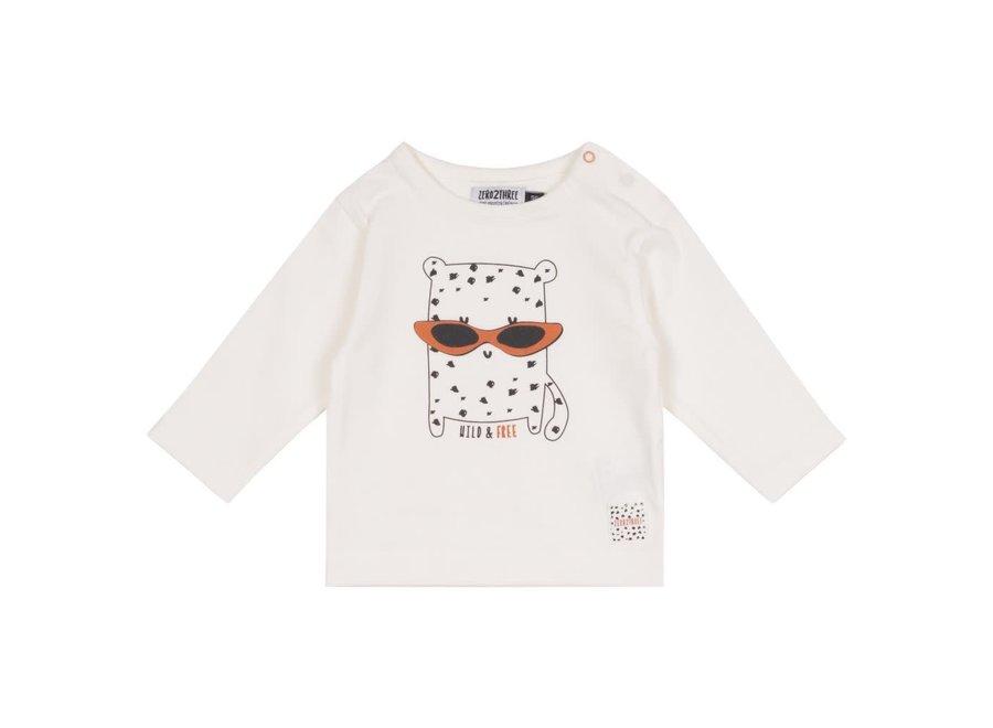 Geboortelijst - Zero 2 Three - T-shirt  56 (1 - 2 maand)