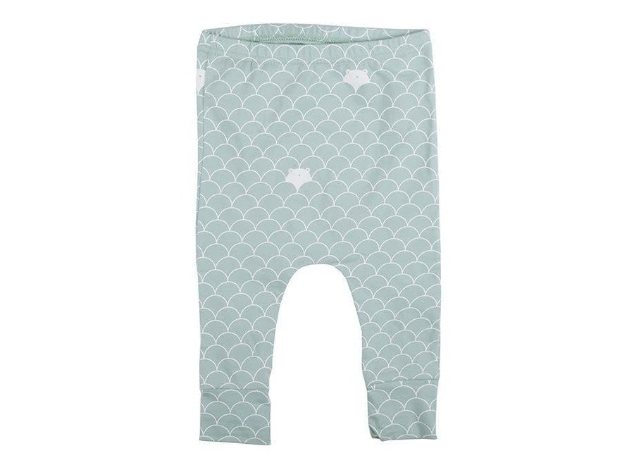 Geboortelijst - Plum Plum - Harem Pants - Bears  'Mint' 50 / 56