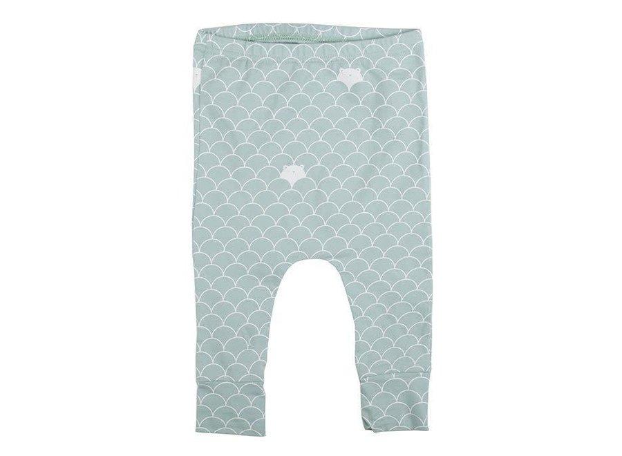 Plum Plum - Harem Pants - Bears  'Mint'