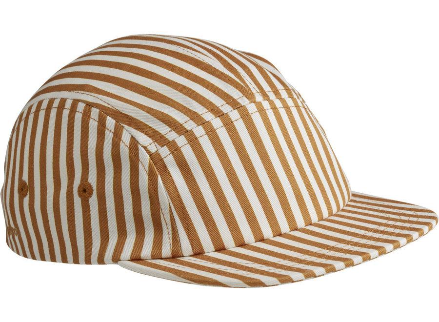 Liewood - Rory cap Mustard Stripe