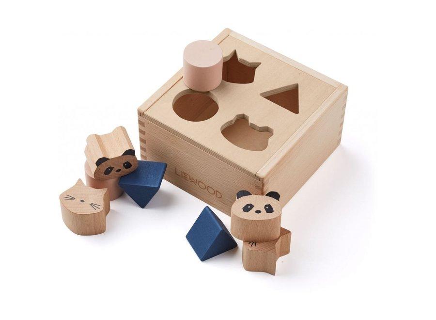 Liewood - Mateo wood puzzle