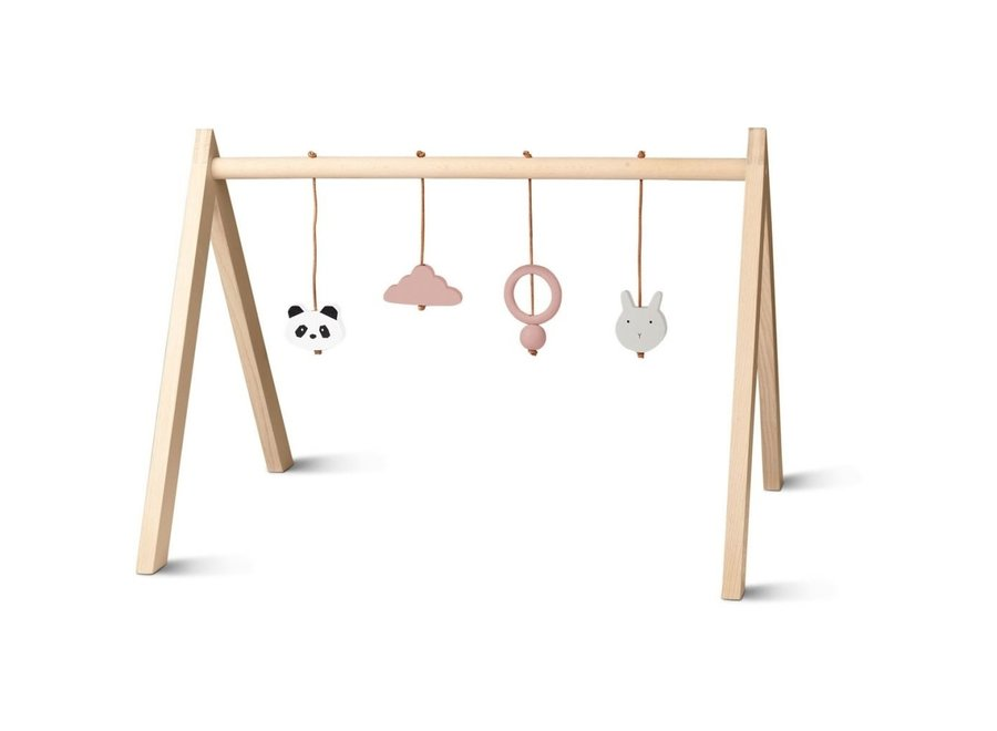 Geboortelijst Aagje - Liewood - Wooden playgym