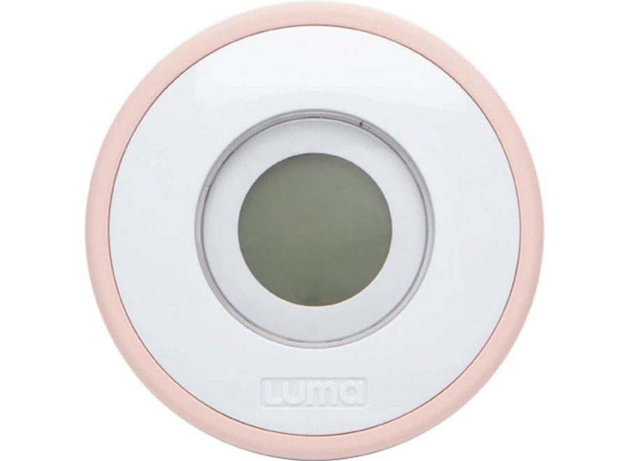 Luma - Digitale badthermometer Cloud Pink