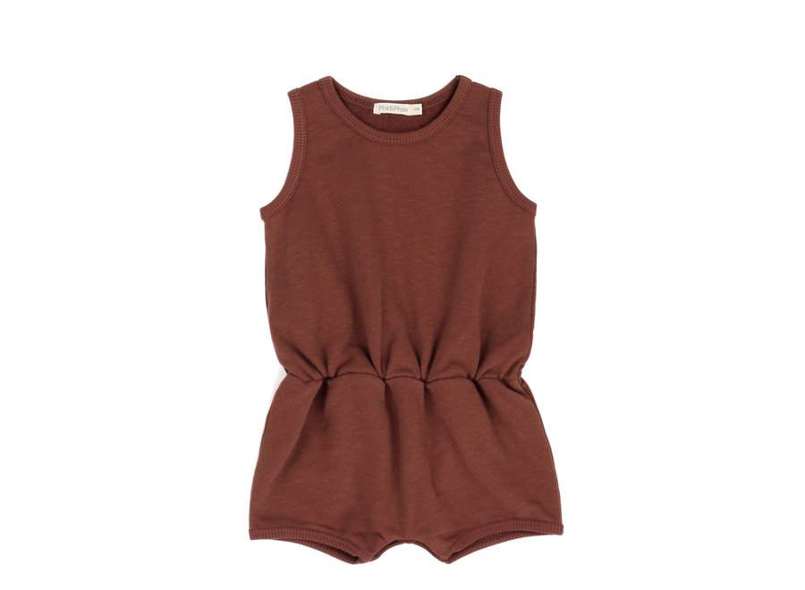Phil & Phae - Slub playsuit