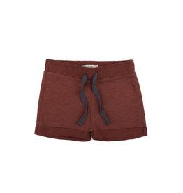 Phil & Phae Phil & Phae - Sweat shorts slub Russet