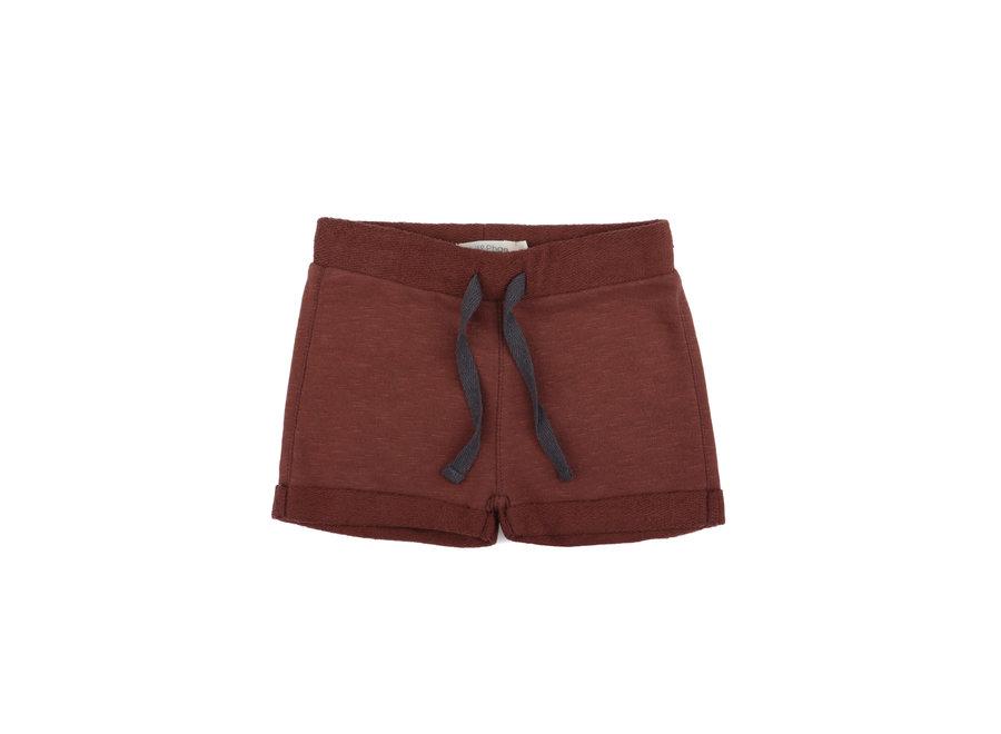 Phil & Phae - Sweat shorts slub Russet