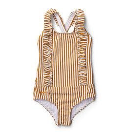 Liewood Liewood - Moa Swimsuit - Mustard Stripe