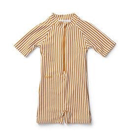 Liewood Liewood - Max Swimsuit - Mustard Stripe