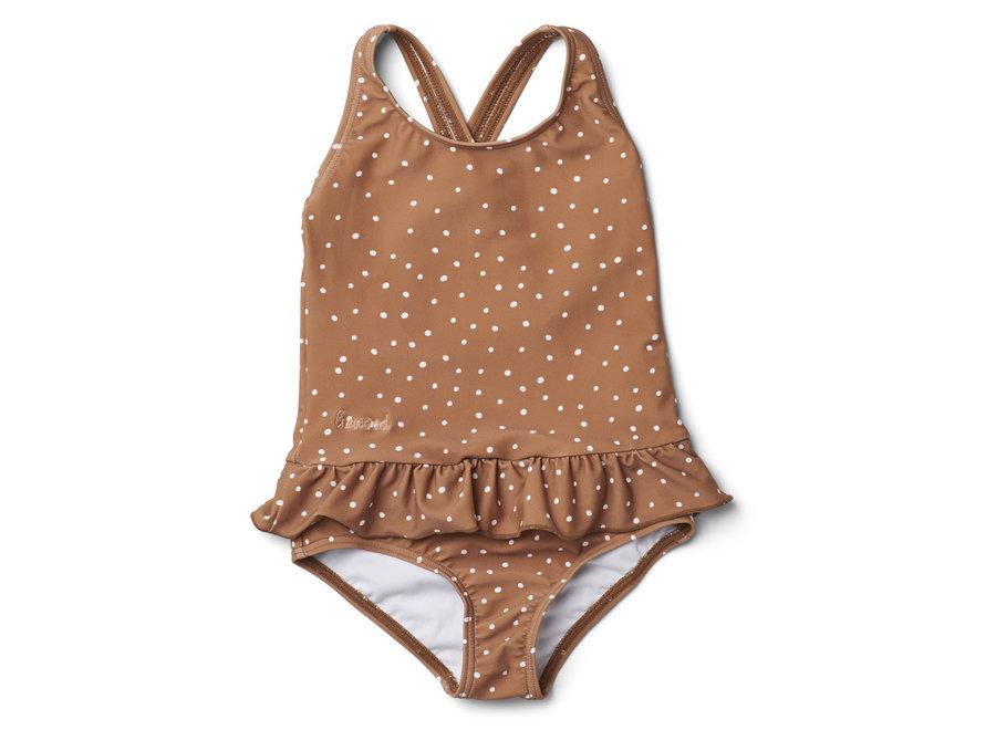 Liewood - Amara swimsuit - Confetti terracotta