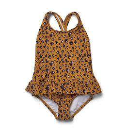Liewood Liewood - Amara swimsuit - Mini Leo Mustard