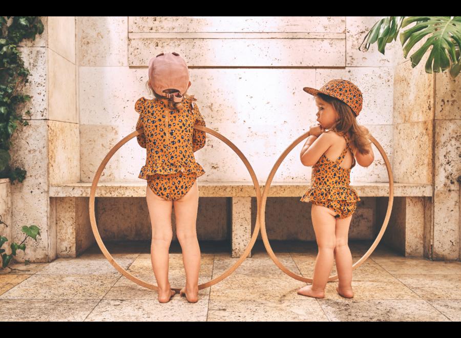 Liewood - Amara swimsuit - Mini Leo Mustard