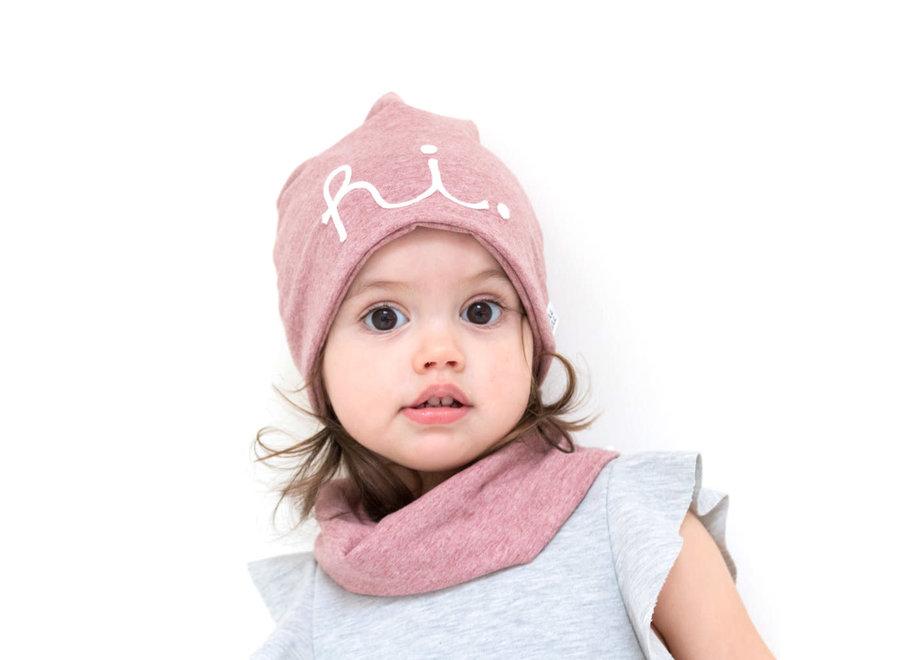 Geboortelijst Aagje - Aai Aai Beanie Hi Pink 6-12 maand
