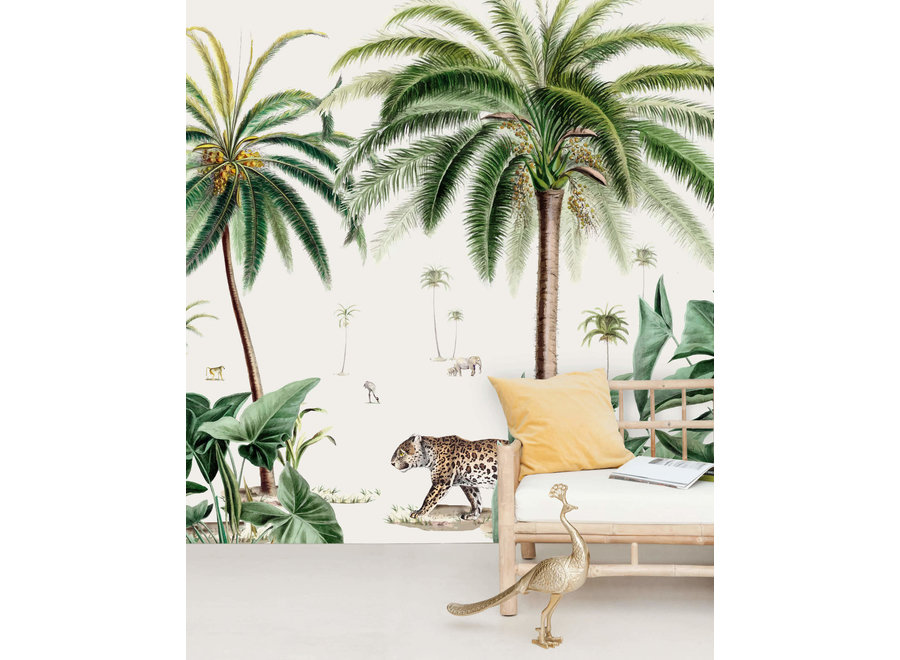 Wall paper - Walk in the park (mural)
