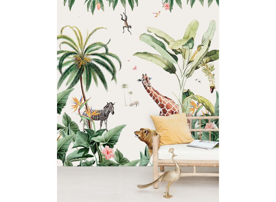 Wall paper - Sanny & Charlie (mural)