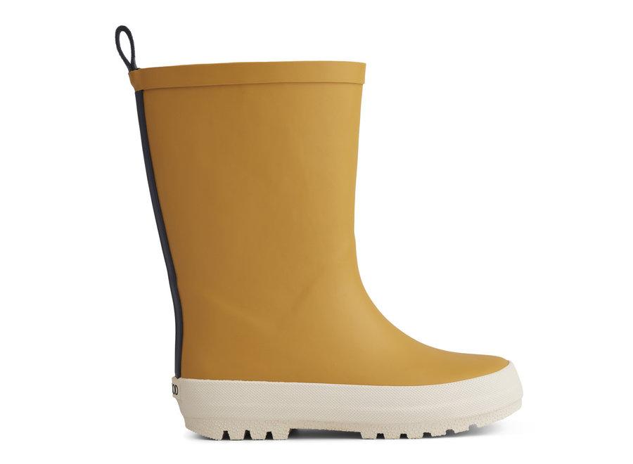 Liewood - River Rain Boot - Yellow Mellow