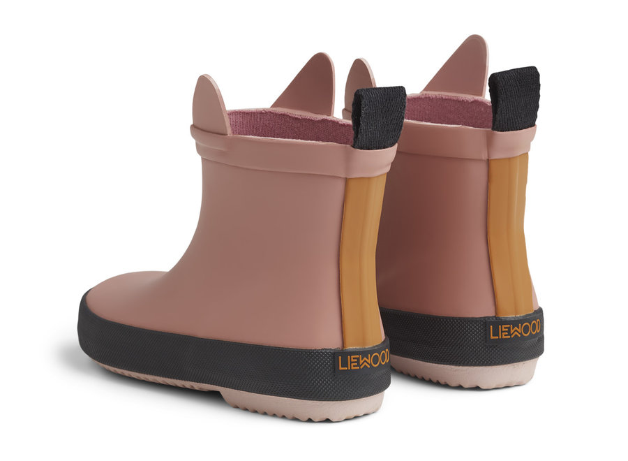 Liewood - Tobi Rain Boot - Rabbit Rose