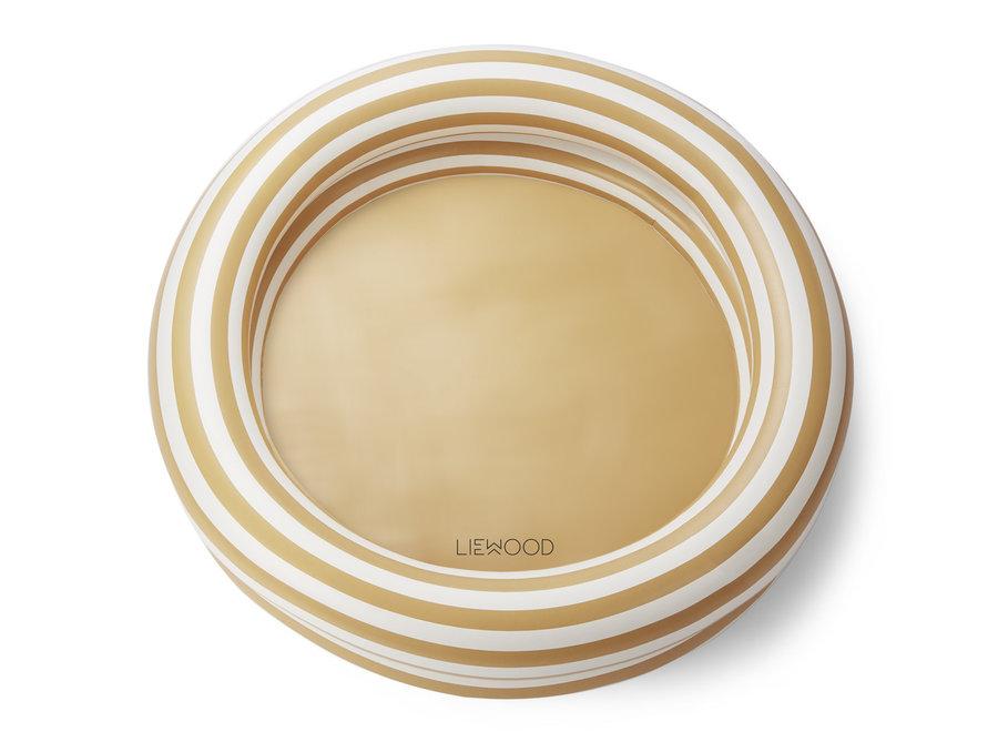 Geboortelijst Aagje - Liewood - Zwembad Leonore - Yellow Mellow / Stripe