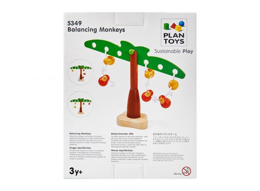 Plan Toys - Balancing Monkeys