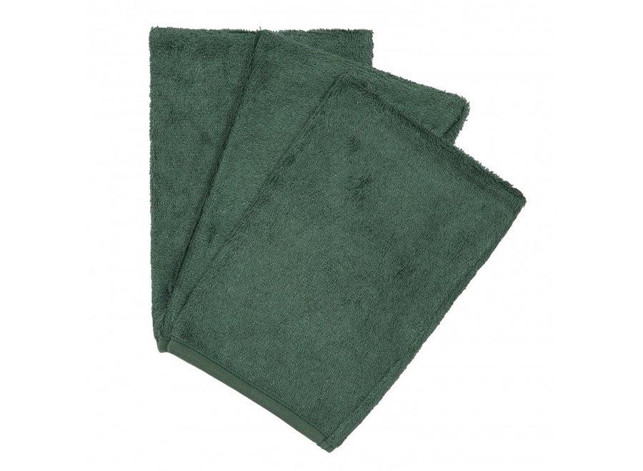 Timboo - Set van washandjes - Aspen Green
