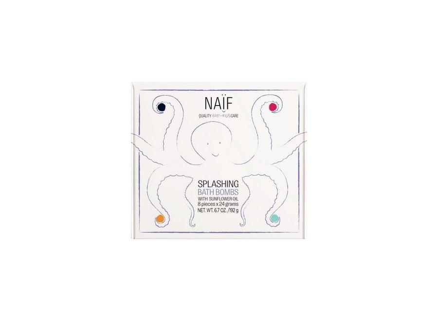 Naïf - Splashing  Bath Bombs