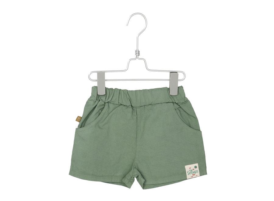 Lotiekids - Wide Shorts Solid - Tree Green