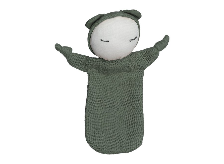 Fabelab - Cuddle Doll - Olive