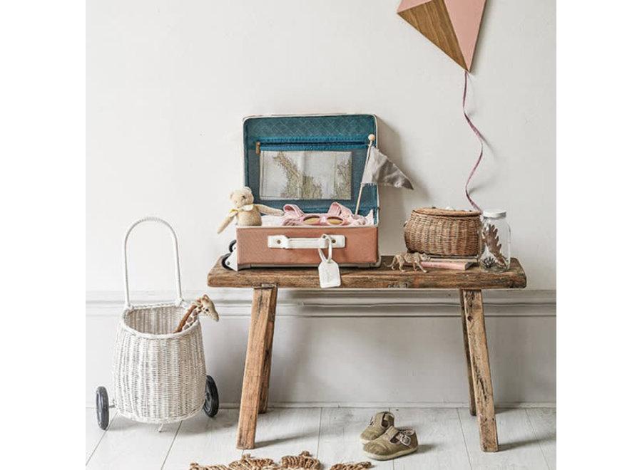 Geboortelijst Sarah - Olli & Ella - 'See Ya' Suitcase - Rust