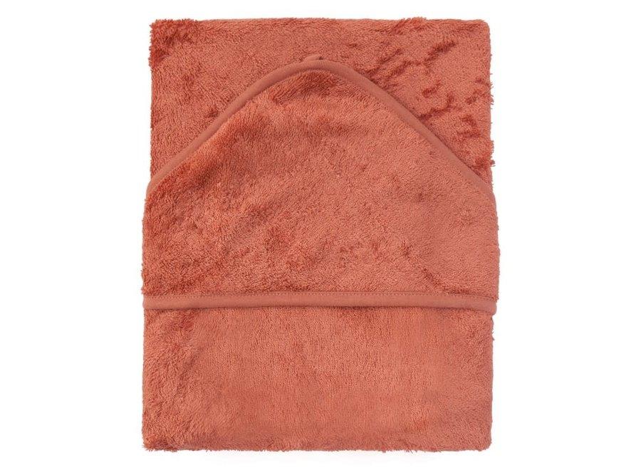 Geboortelijst Sarah - Timboo - Badcape XL - Apricot Blush