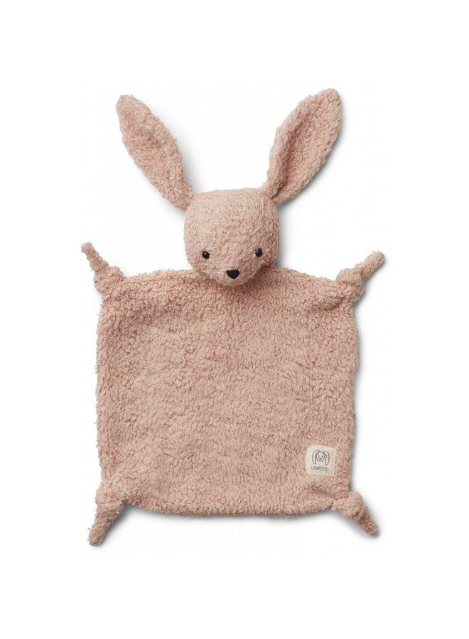 Geboortelijst Sarah - Liewood - Lotte Cuddle Cloth - Rabbit Rose