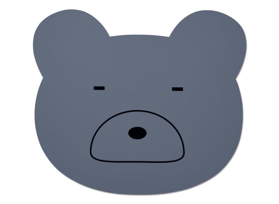 Geboortelijst Sarah - Liewood - Placemat Mr Bear 'Blue wave'