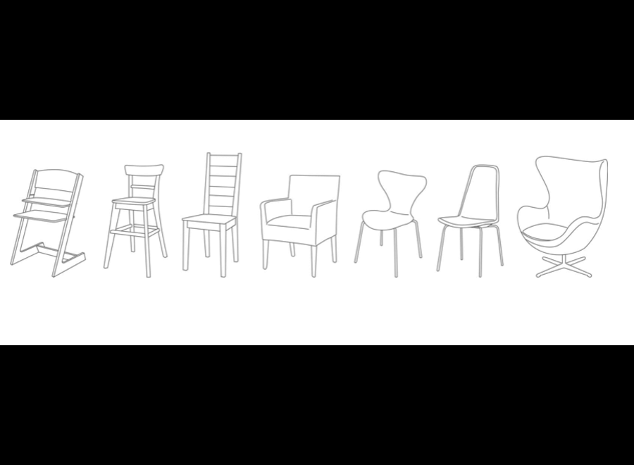 Minimonkey - Minichair Black