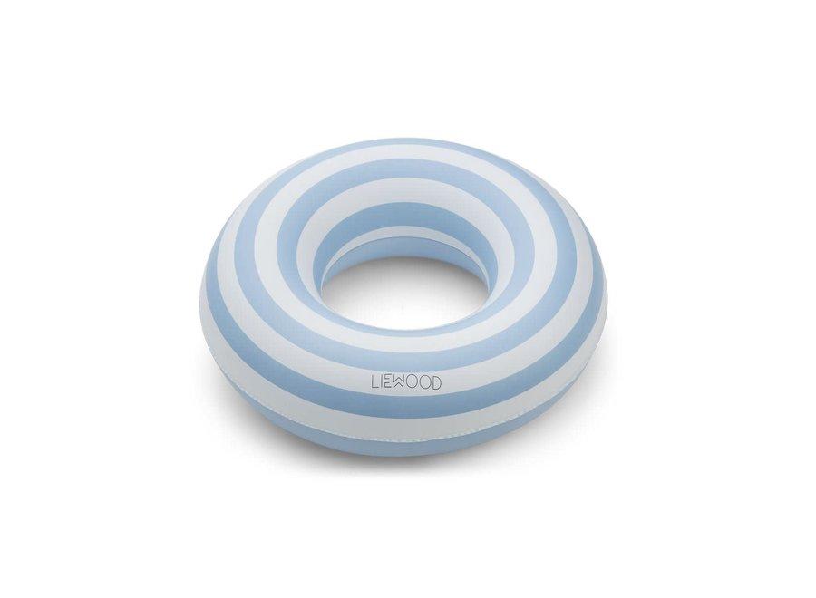 Liewood - Baloo Swim Ring - Sea Blue Stripe