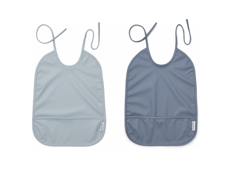 Liewood - Lai Bib - Blue mix