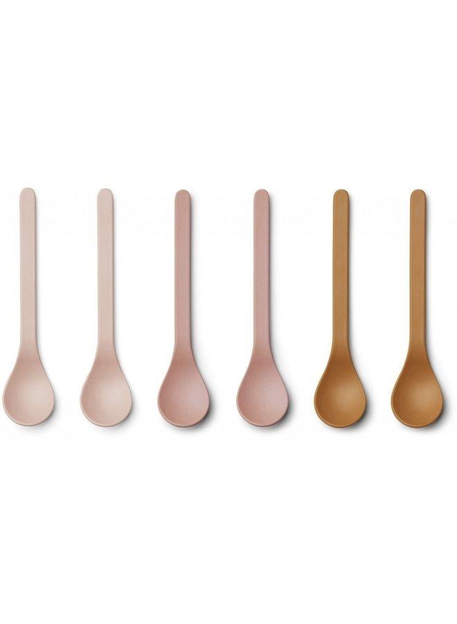 Liewood - Etsu Bamboo Spoon - Rose multi mix