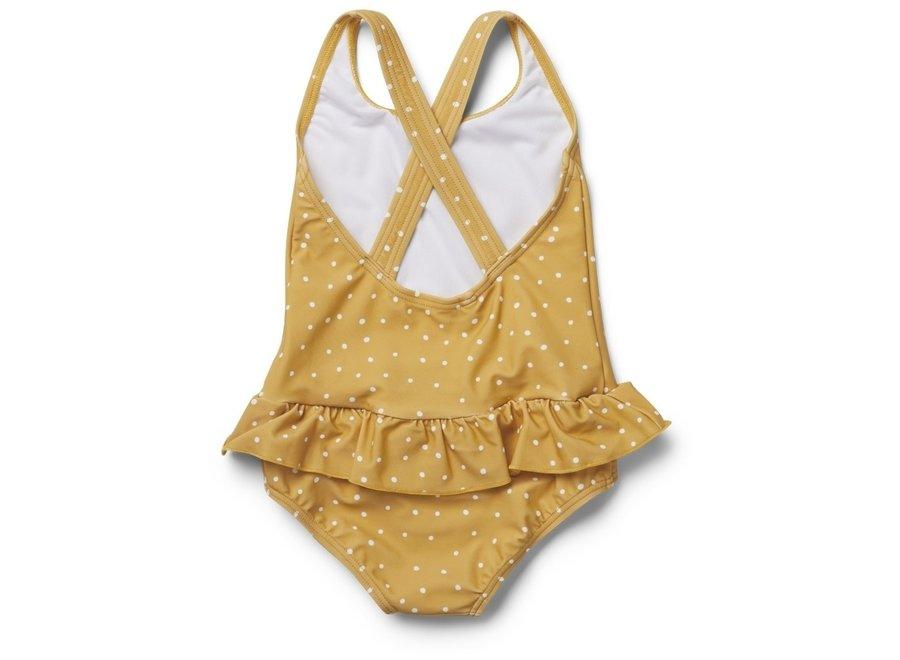 Liewood - Amara Swimsuit - Confetti Yellow Mellow