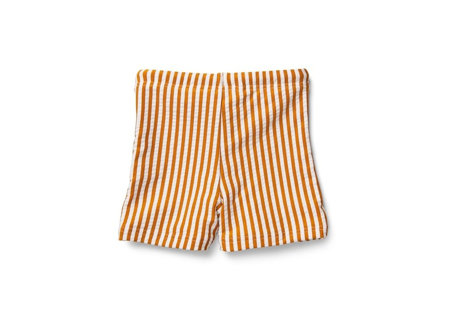 Liewood - Otto Swim Pants Seer - Mustard Stripe