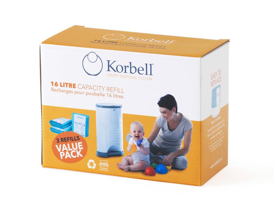 Korbell - Refill (3 pack)