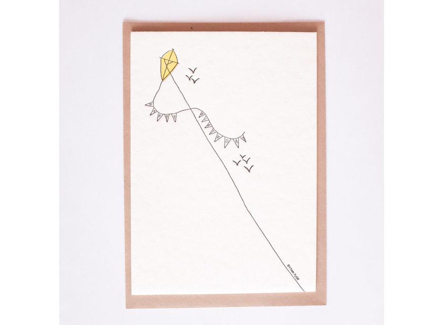 Studio Flash - Kaart - Birthday Kite