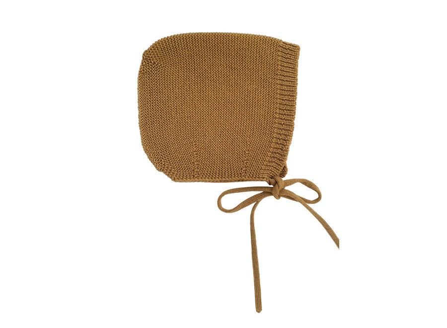 HVID - Bonnet dolly - Mustard