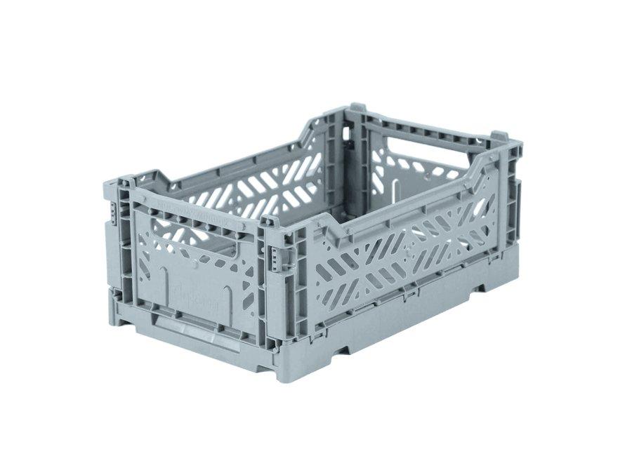 Lillemor - Folding Crate 'Pale Blue' - Mini