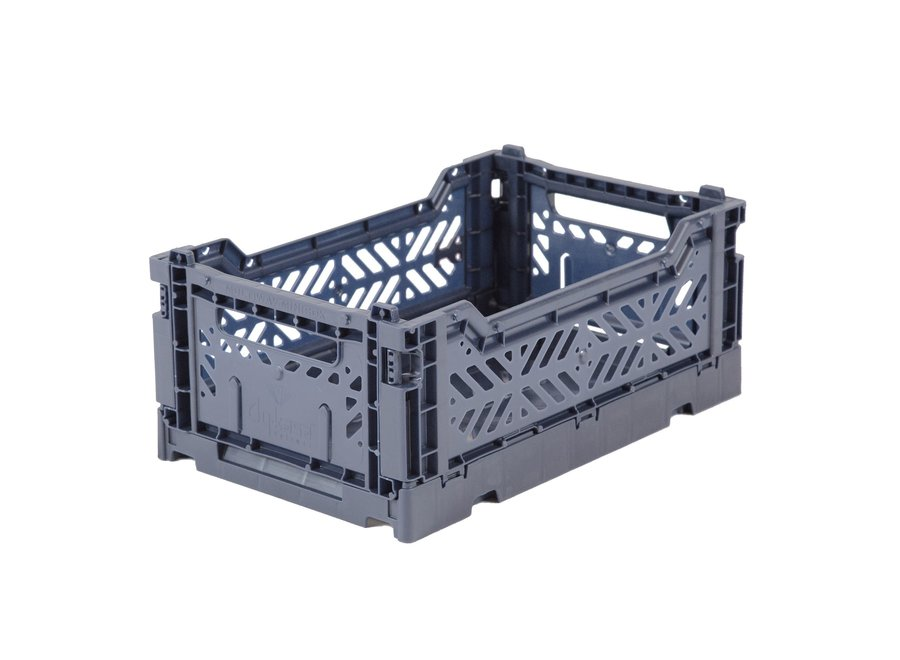 Lillemor - Folding Crate 'Cobalt Blue' - Mini