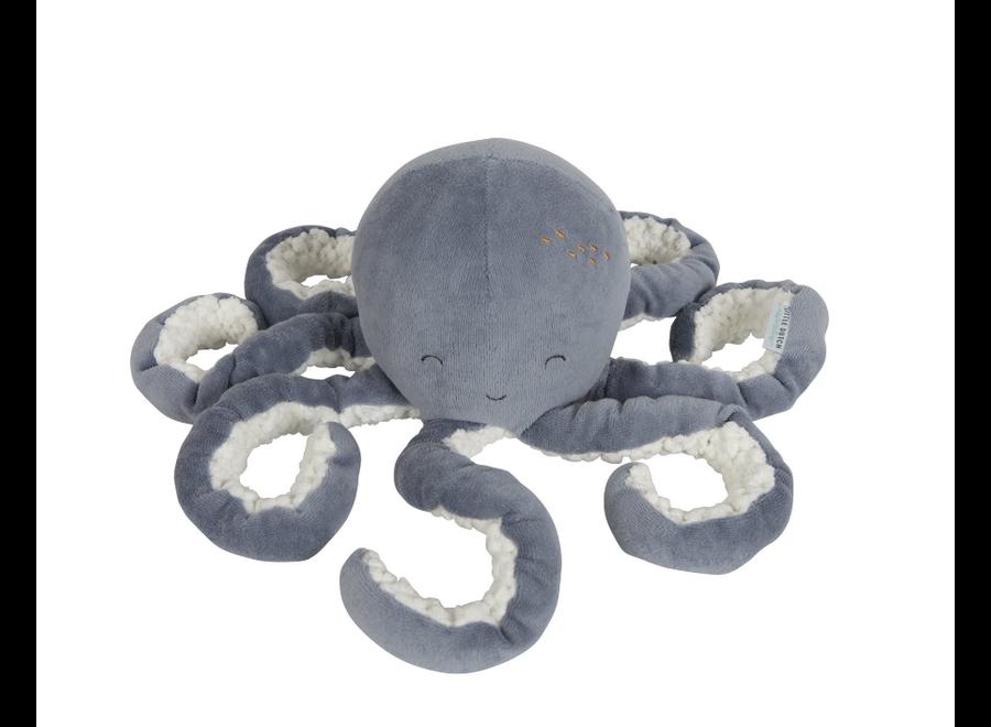 Little Dutch - Knuffel Octopus - Ocean Blue