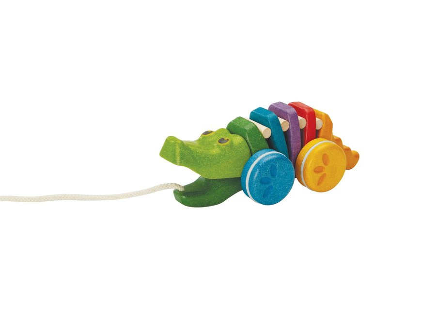 Plan Toys - Rainbow Alligator