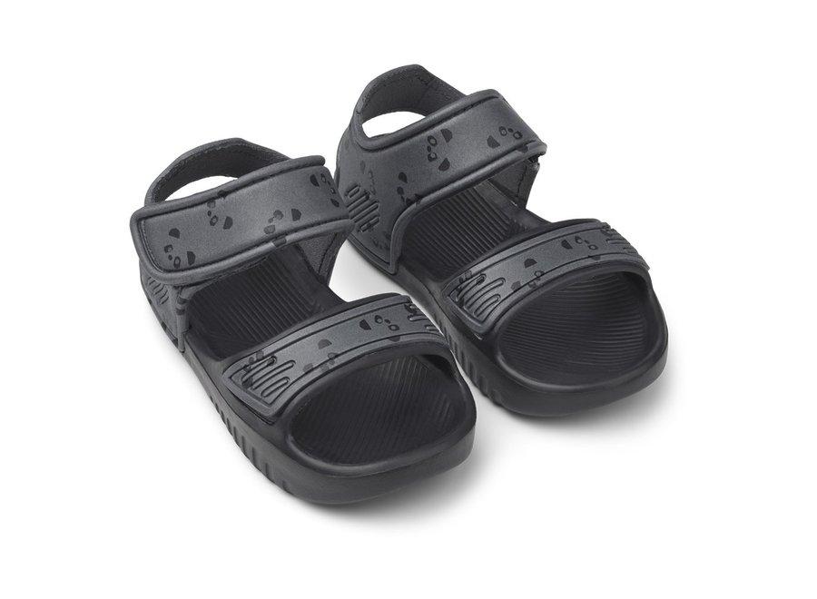 Liewood - Blumer Sandals - Black Panda